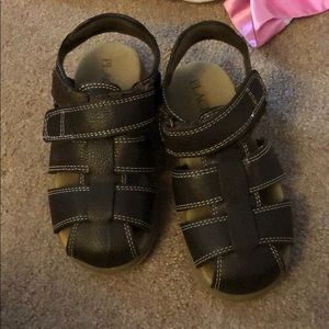 Size 10 children's place brown sandals